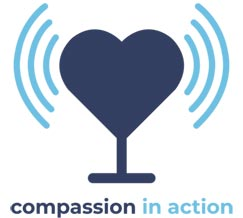 Compassion in Action podcast logo